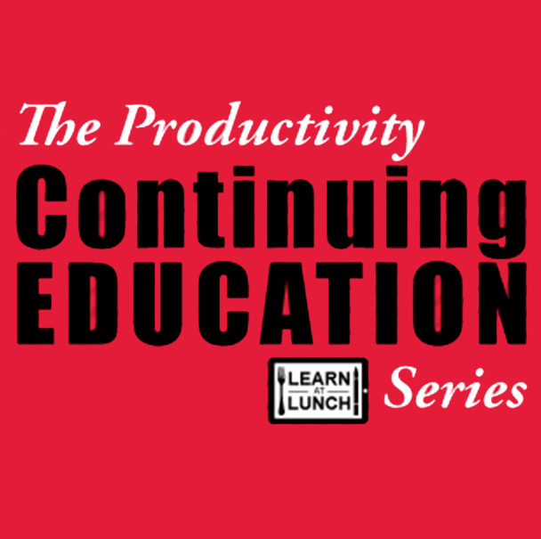 Productivity, Inc., Lunch-N-Learn Event